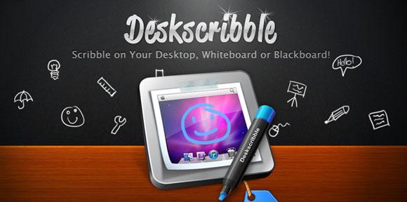 desksc Il programma Deskscribble gratis via MacBuzzer