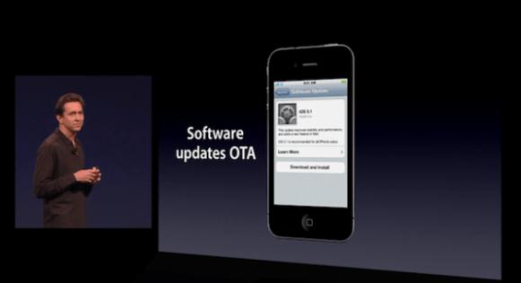Apple iOS 5 OTA updates 580x315 L'iOS 5 beta 4 rende possibile per la prima volta l'aggiornamento del firmware attraverso OTA