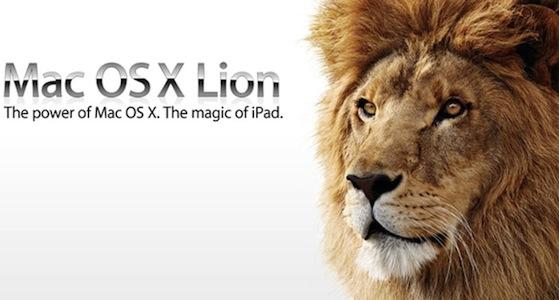 Mac OS X Lion1 Mac OS X Lion disponibile da questa notte?