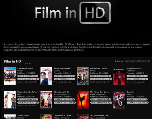 itunes filmHD pagina11 580x455 Entro fine anno Apple lancerà HD+ su iTunes