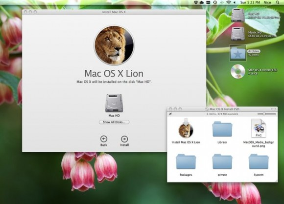snapxh 580x418 Nel forum di Italiamac: Guida alla creazione di DVD o USB di boot per OS X Lion