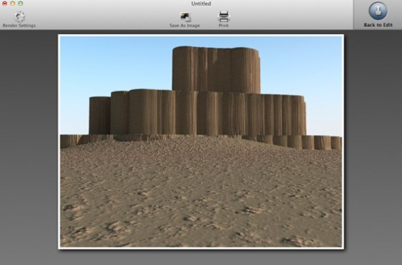 4 580x383 Recensione TerraRay per Mac, render fotografici per tutti