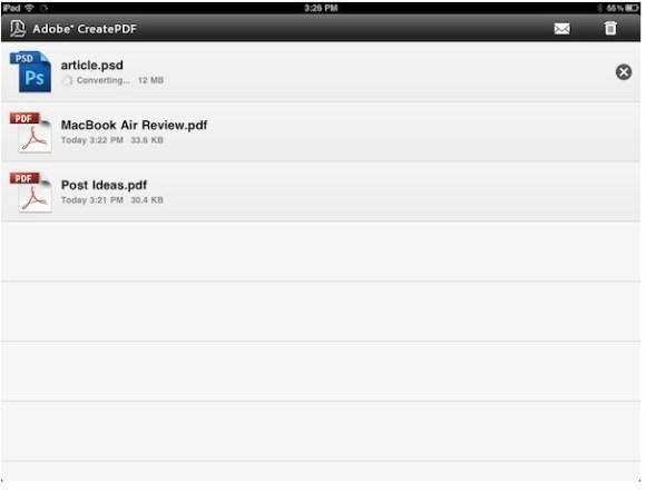 CapturFiles10 580x442 Adobe rilascia CreatePDF per gestire i PDF con iOS