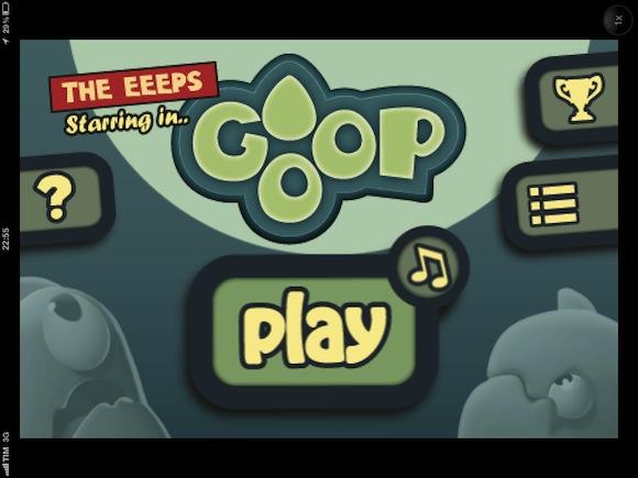 Goop 1 Salviamo gli Eeeps dalle gocce in Goop per iPhone e iPod touch