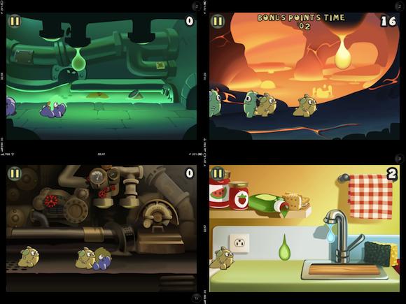 Goop 8 Salviamo gli Eeeps dalle gocce in Goop per iPhone e iPod touch