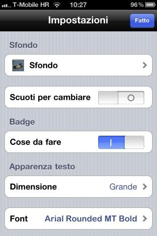IMG 0235 Recensione di Cose da fare per iPhone, utile per le liste delle cose da fare [Aggiornato]