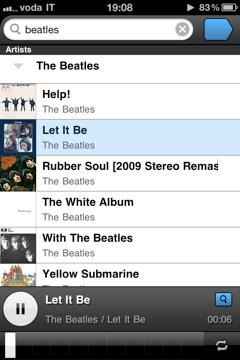 IMG 1113 Panamp: un nuovo modo di ascoltare la tua musica su iPhone ed iPod touch
