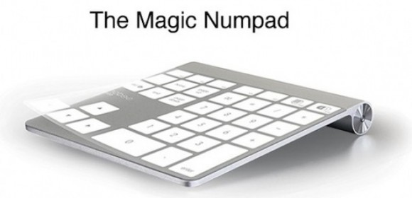 Mobee magic Numpad alone1 e1314801727104 580x280 Trasforma il tuo Magic Trackpad in un tastierino numerico