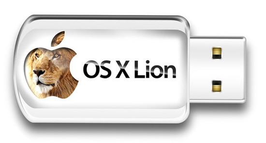 OS X Lion USB Disponibile in USA la chiavetta USB di Lion