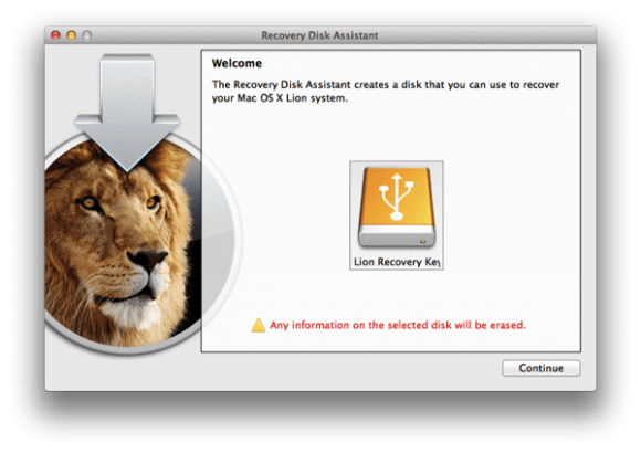 Screen Shot 2011 08 09 at 12.06.53 AM small 580x410 Apple rilascia Lion Recovery Disk Assistant