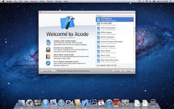 XCode Shot Apple rilascia un aggiornamento per Xcode 4.1.1 su Mac App Store