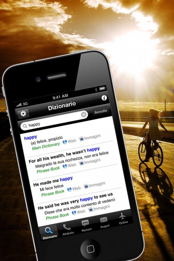 a retina ITA 580x870 Rilasciata la versione 2.0 del popolare dizionario compatto di Inglese Italiano per iPhone e iPod touch Apimac