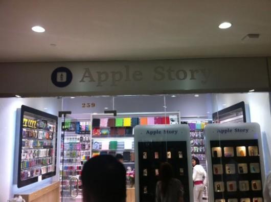 apple story Fake Apple Store anche fuori il territorio Cinese