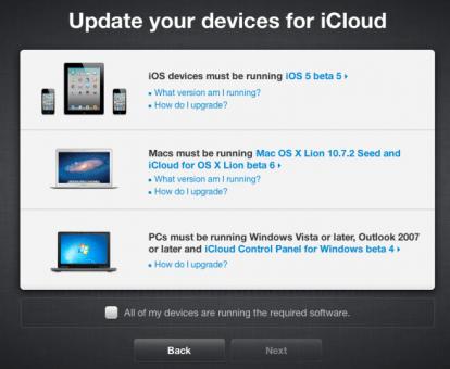 four1 414x340 Ora è possibile migrare i dati da MobileMe ad iCloud