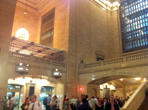 grandcentral constructlg2 Apple inizia i lavori per il nuovo store nella Central Station di New York
