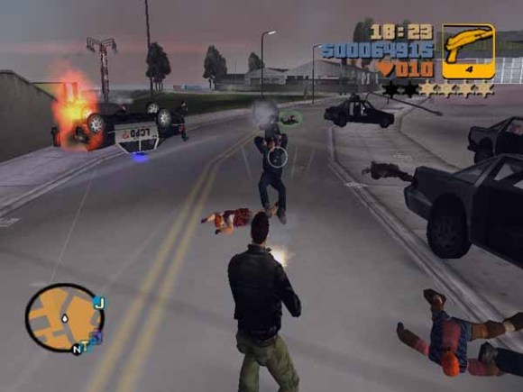 gta 3 580x435 Grand Theft Auto 3 è disponibile sul Mac App Store