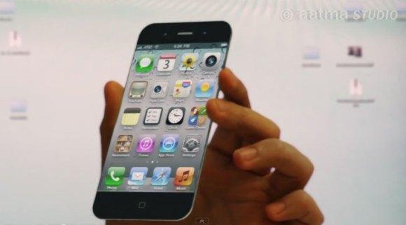 iphone5 a 580x321 5.983.772 visualizzazioni al nuovo video concept delliPhone 5 di AatmaStudio