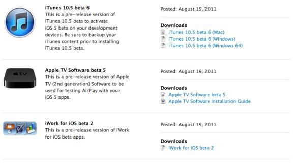 iwork beta 2 ispazio 580x320 Rilasciati da Apple iWork per iOS Beta 2, la Beta 5 per Apple TV e xCode 4.2 DP 6