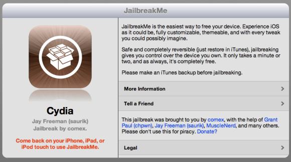 jailbreakme home 580x324 Apple assume il creatore di JailbreakMe.