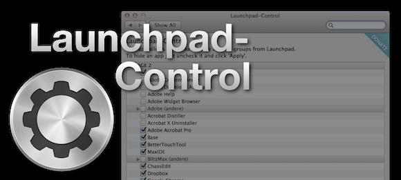 launchpad control Launchpad Control. Utility interessante per il Launchpad di Lion.