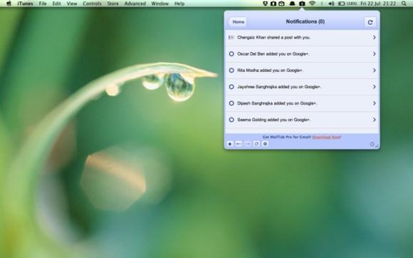 mzl fyxhjlmf 580x362 Google+ sul tuo desktop con il nuovo Tab for Google+