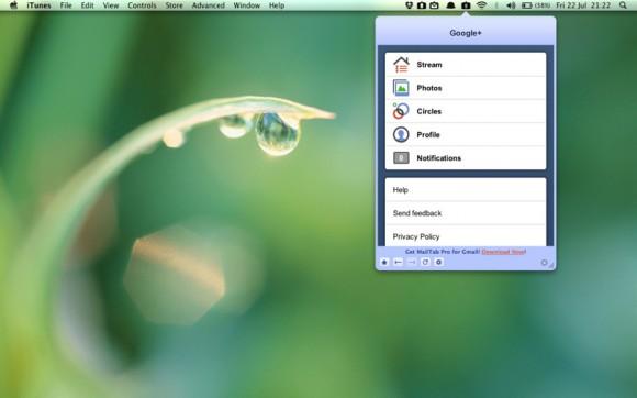 mzl ujtqvfuj 580x362 Google+ sul tuo desktop con il nuovo Tab for Google+