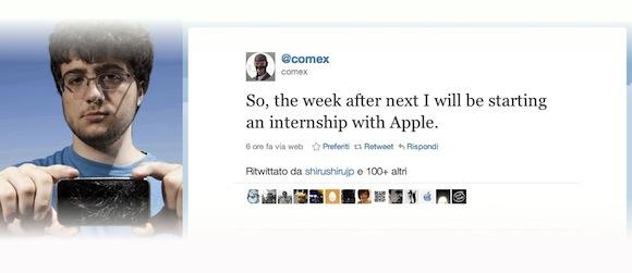 nicholas allegra jailbreakme apple Apple assume il creatore di JailbreakMe.