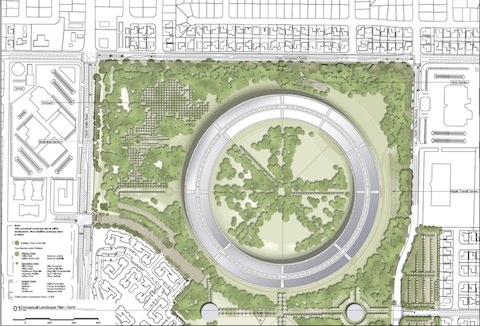 nuovo campus apple Dettagli del nuovo campus Apple a Cupertino