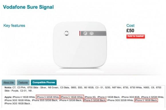 CapturFiles5 580x385 Da Vodafone Uk trapela la notizia che iPhone 5 sarà venduto nei modelli bianco e nero da 16 e 32 GB