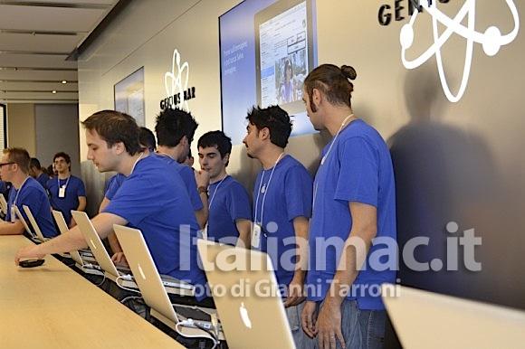 Genius Bar 580x386 Il reportage di Italiamac dallApple Store di Bologna