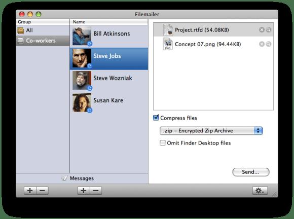 filemailer screen shot 580x432 Filemailer Pro for Mac: una pratica soluzione per inviare files da un computer allaltro senza perdite di tempo