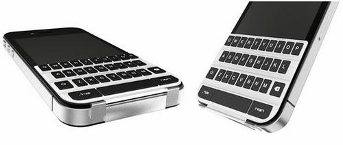 iphone keyboard magnet Smartkeyboard: concept di una tastiera fisica per iPhone 4