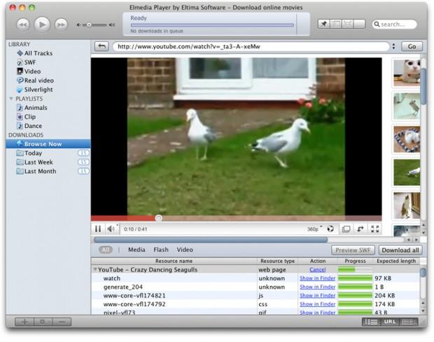player video elmedia 620x489 Elmedia Player, gestisci e riproduci i tuoi video in stile iTunes