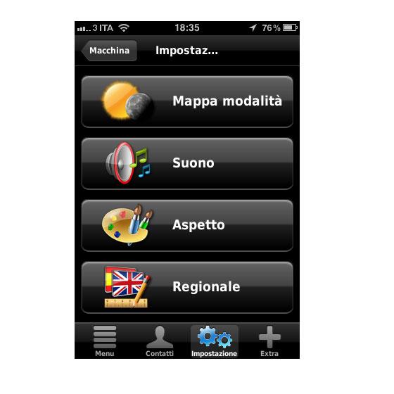 02 Recensione del navigatore per iOS Dynavix Europa Occidentale, migliaia di strade in tasca