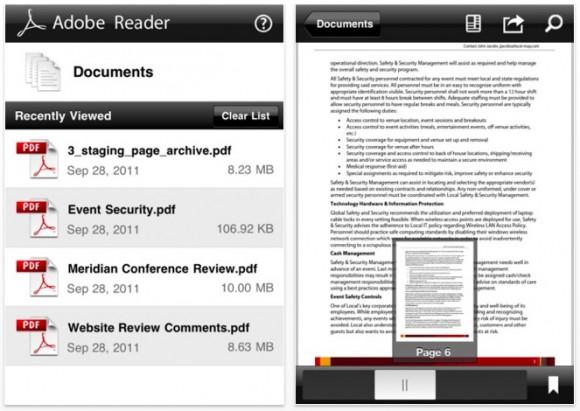 2011 10 17 07.55.53 pm 580x411 Adobe Reader sbarca su iOS, per iPhone e iPad