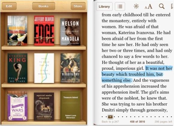 CapturFiles 1 580x421 Aggiornamento importante di iBooks per iOS che arriva alla versione 1.3.1