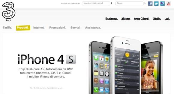 Schermata 10 2455862 alle 20.34.22 580x314 Tariffe degli operatori italiani per acquistare liPhone 4S