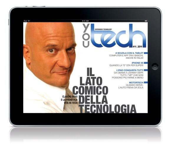 YouTechN Novembre 580x489 You Tech, arriva il secondo numero sullApp Store