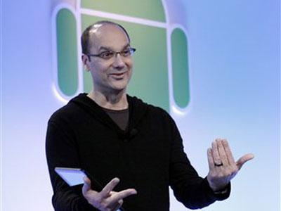 andy rubin In breve: Samsung e Google rimandano levento per Android in segno di rispetto verso Steve Jobs
