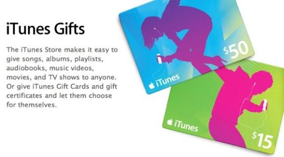 apple itunes whate28099s on itunes itunes gifts 580x321 Best Buy offre il 15% di sconto sullacquisto delle iTunes Gift Card di Apple
