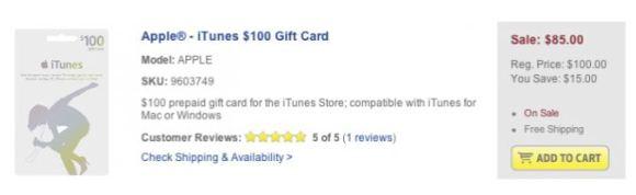 best buy 580x178 Best Buy offre il 15% di sconto sullacquisto delle iTunes Gift Card di Apple