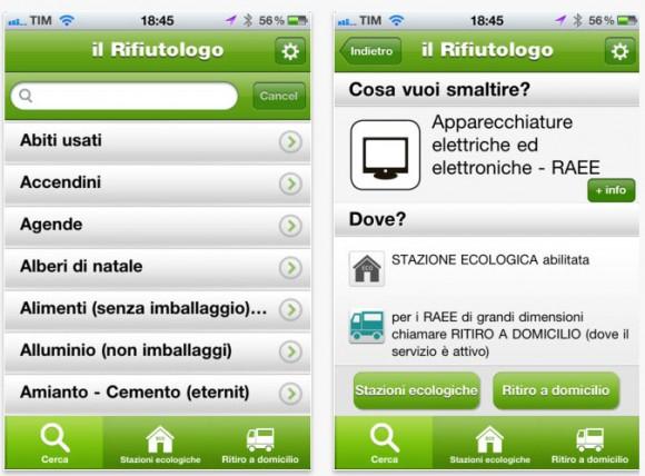 hera 580x428 Il Rifiutologo semplifica la raccolta differenziata su iPhone e iPad