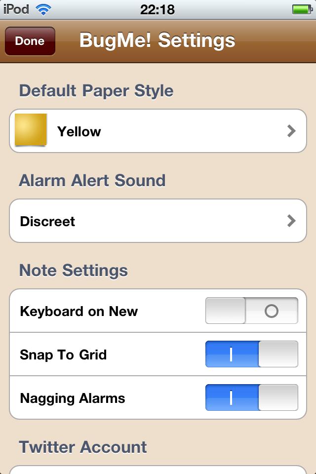 %name BugMe! Reminders, prendi note con il tuo dispositivo iOS