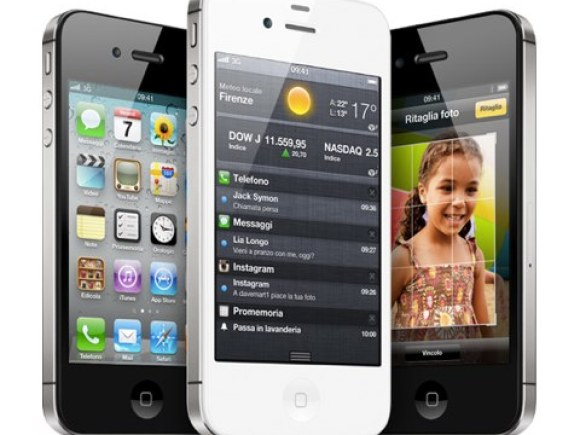 iphone 4s 580x435 Primi problemi riscontrati sulliPhone 4S