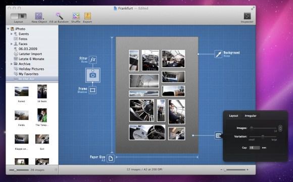 screenshot 1 580x360 Crea collage, poster e cartoline in pochi click con Posterino