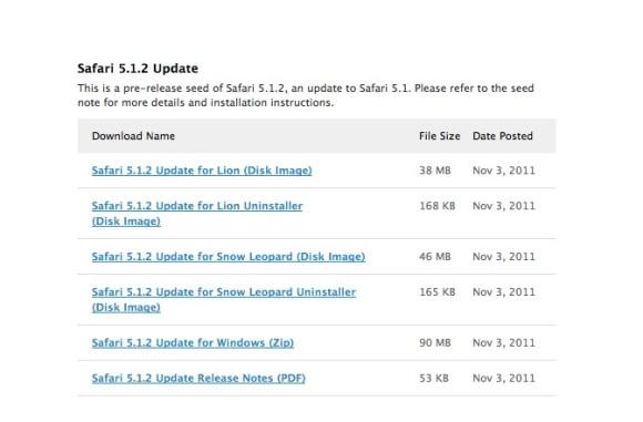 Schermata 11 2455870 alle 07.46.31 580x381 Apple rilascia Safari 5.2 Beta agli sviluppatori