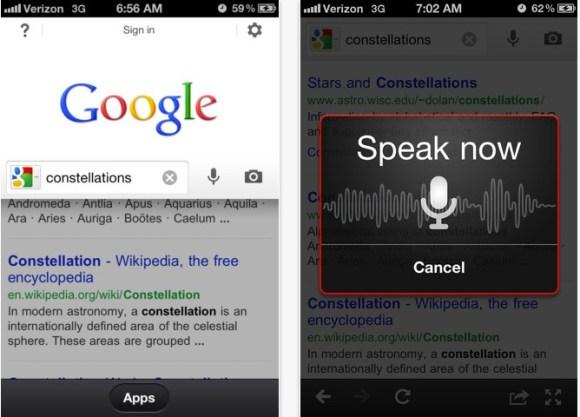 Schermata 11 2455888 alle 15.54.57 580x417 Google Search per iOS si aggiorna introducendo nuove funzioni e una nuova interfaccia