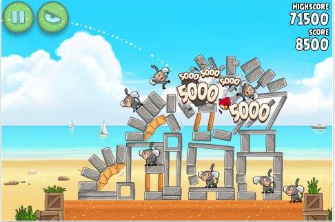 Schermata 11 2455889 alle 11.00.39 Nuovo aggiornamento per Angry Birds Rio che aggiunge 15 livelli e altre novità