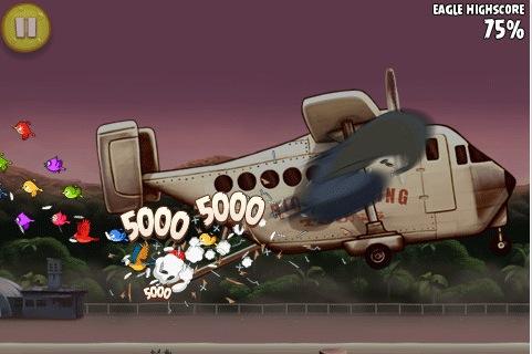 Schermata 11 2455889 alle 11.09.41 Nuovo aggiornamento per Angry Birds Rio che aggiunge 15 livelli e altre novità