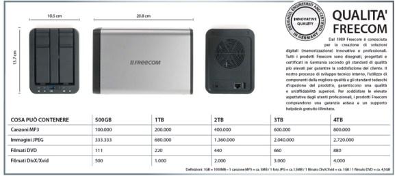specs silverstore it 580x258 Con SilverStore di Freecom salvi i tuoi dati dove e quando vuoi!